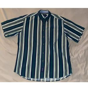 VTG 90's Striped Catalina Button Up Medium